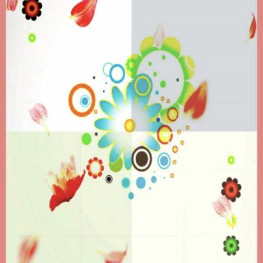 花 カラフルの Android スマホ 壁紙