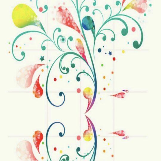 花 キュートの Android スマホ 壁紙