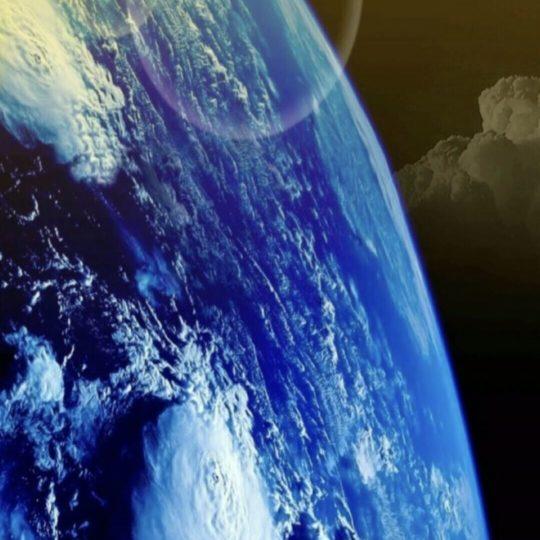 地球 宇宙の Android スマホ 壁紙
