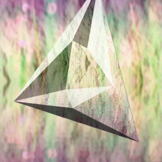 三角形 立体の Android スマホ 壁紙