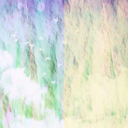 グラデーション 紫の Android スマホ 壁紙