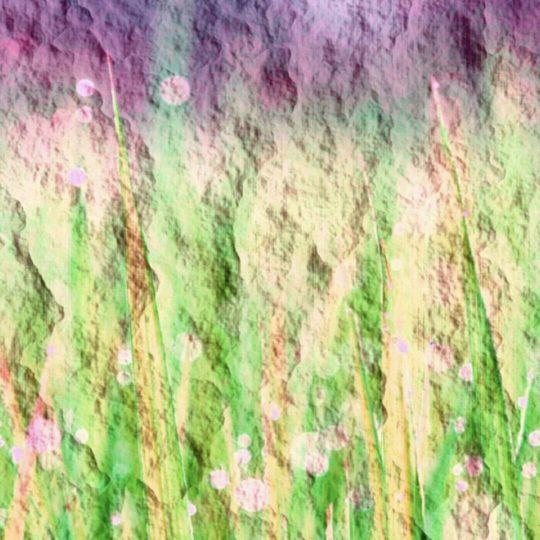 草むら グラデーションの Android スマホ 壁紙