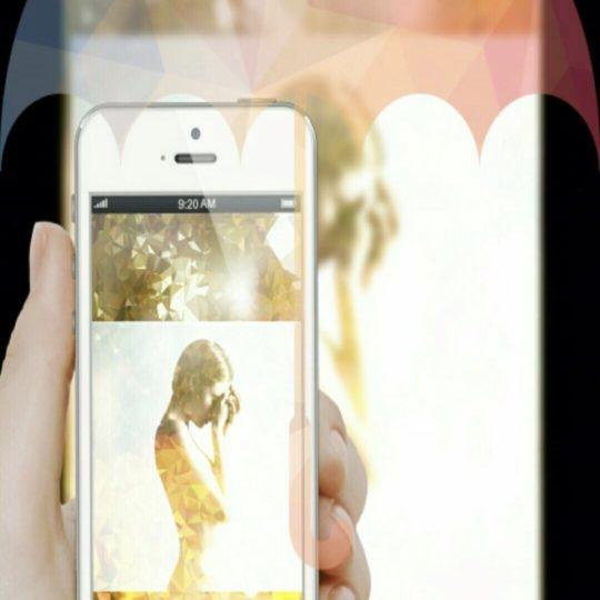 女性 スマホの Android スマホ 壁紙