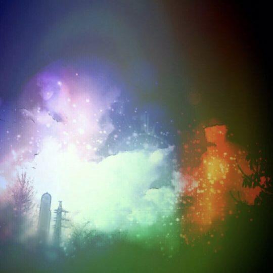 幻想的 夜景の Android スマホ 壁紙