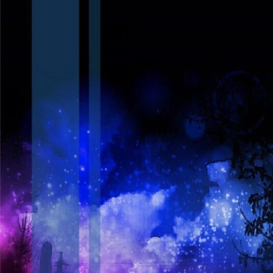 夜景 空の Android スマホ 壁紙