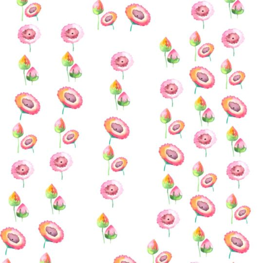 花 ピンクの Android スマホ 壁紙
