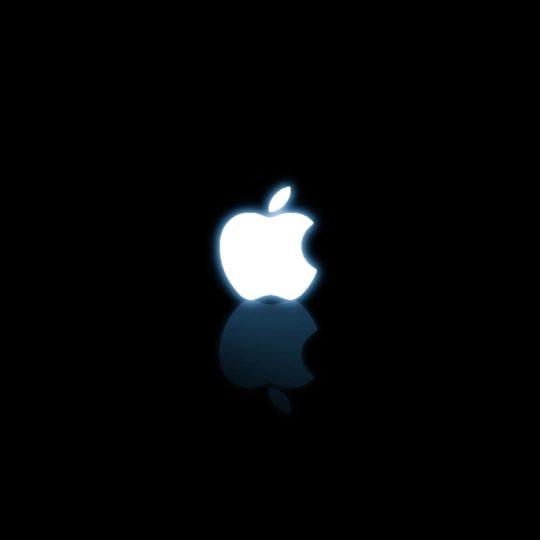Apple黒の Android スマホ 壁紙