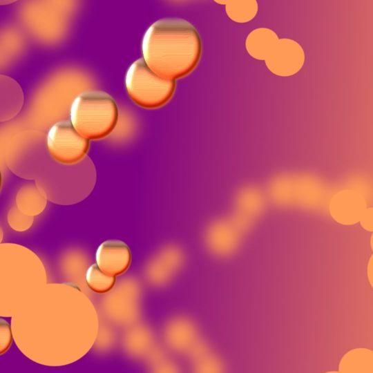 模様紫橙の Android スマホ 壁紙