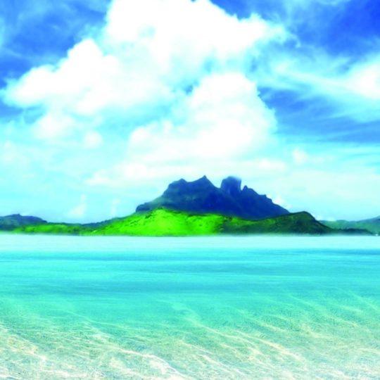 風景ビーチの Android スマホ 壁紙