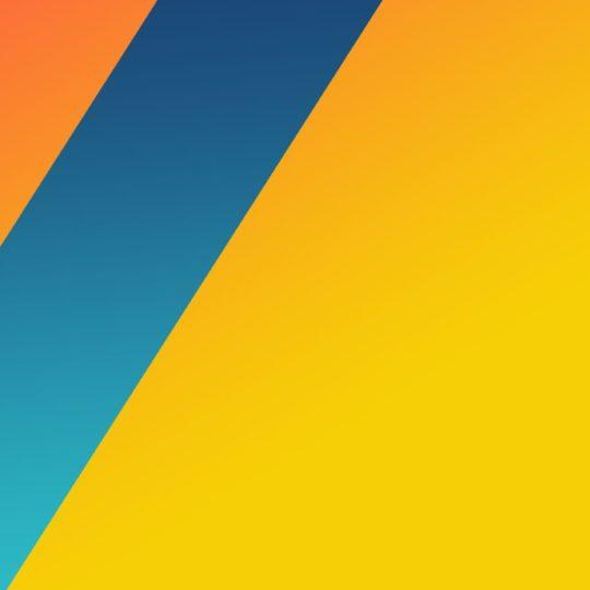 模様黄青の Android スマホ 壁紙