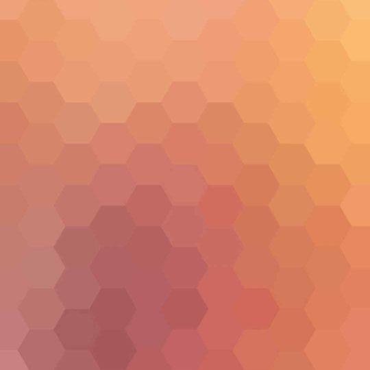 模様赤橙の Android スマホ 壁紙
