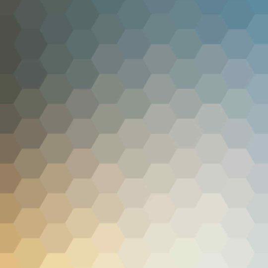 模様青白黄の Android スマホ 壁紙