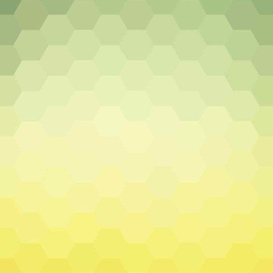 模様緑白黄の Android スマホ 壁紙