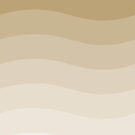 波模様グラデーション茶の Android スマホ 壁紙