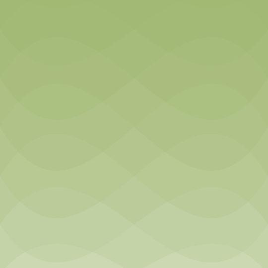 波模様グラデーション黄緑の Android スマホ 壁紙