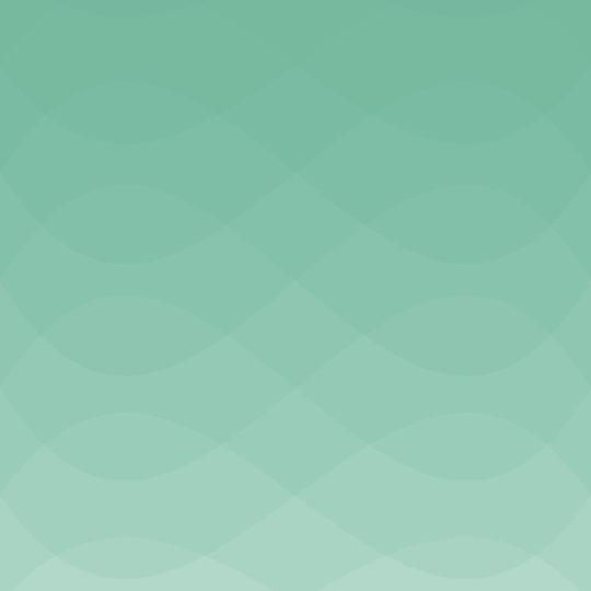波模様グラデーション青緑の Android スマホ 壁紙