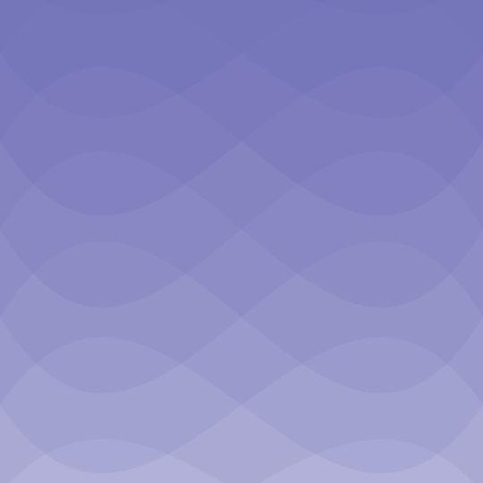 波模様グラデーション青紫の Android スマホ 壁紙