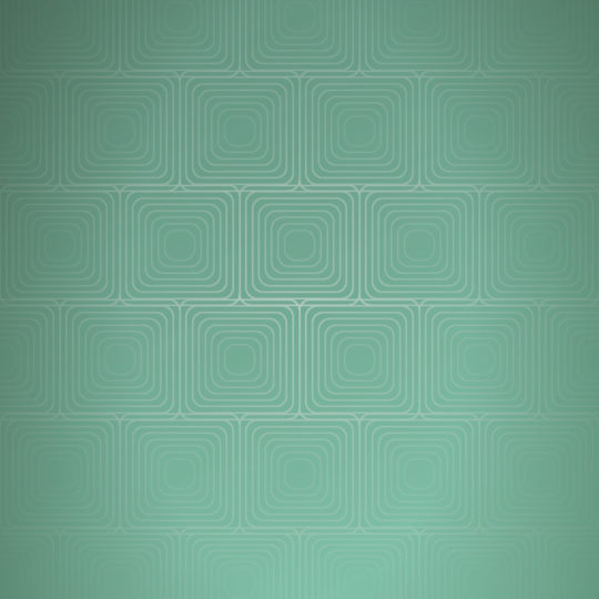 模様グラデーション四角青緑の Android スマホ 壁紙