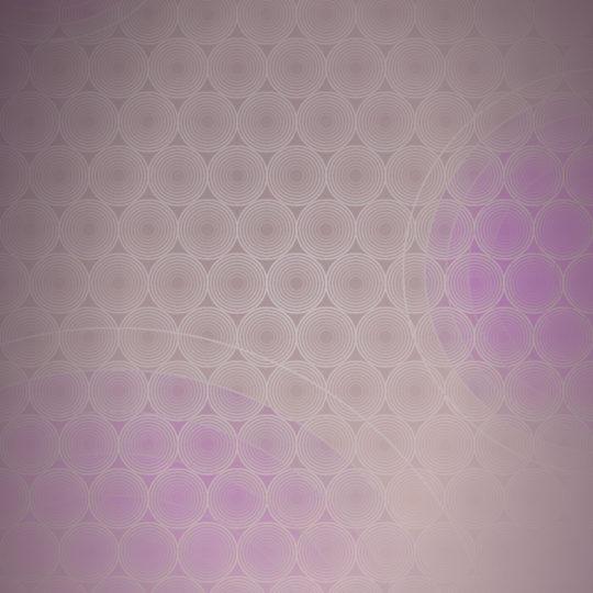 ドット模様グラデーション丸桃の Android スマホ 壁紙
