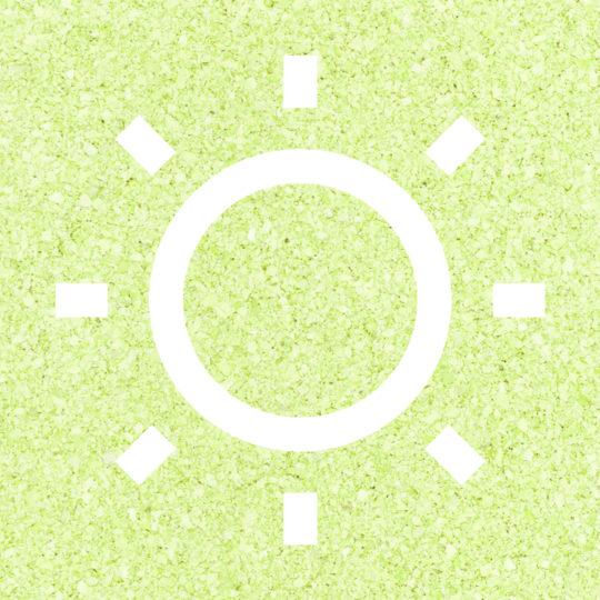 太陽黄緑の Android スマホ 壁紙