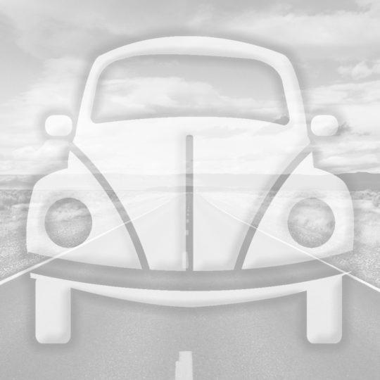 風景車道路灰の Android スマホ 壁紙