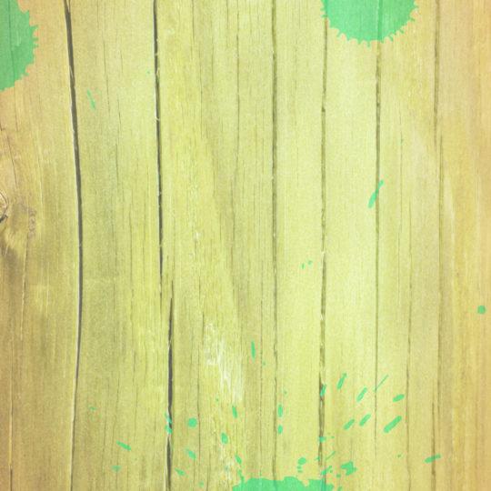 木目水滴茶緑の Android スマホ 壁紙