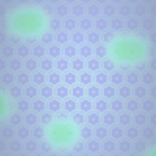 グラデーション模様紫黄緑の Android スマホ 壁紙