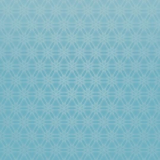 丸グラデーション模様青の Android スマホ 壁紙