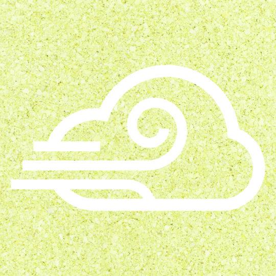 曇風黄緑の Android スマホ 壁紙