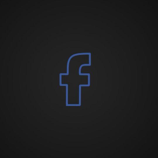 ロゴFacebookの Android スマホ 壁紙