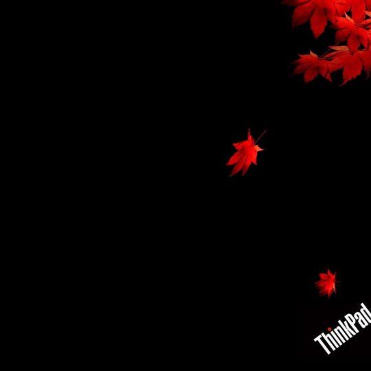 ロゴThinkPad黒の Android スマホ 壁紙