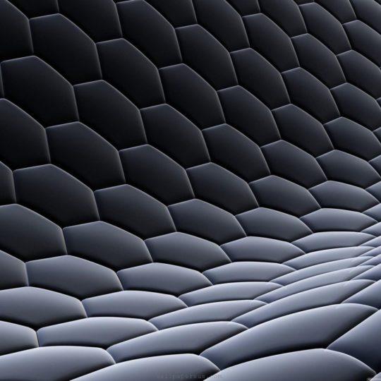模様クール黒の Android スマホ 壁紙