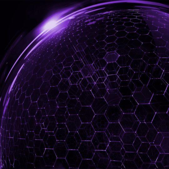 クール紫の Android スマホ 壁紙