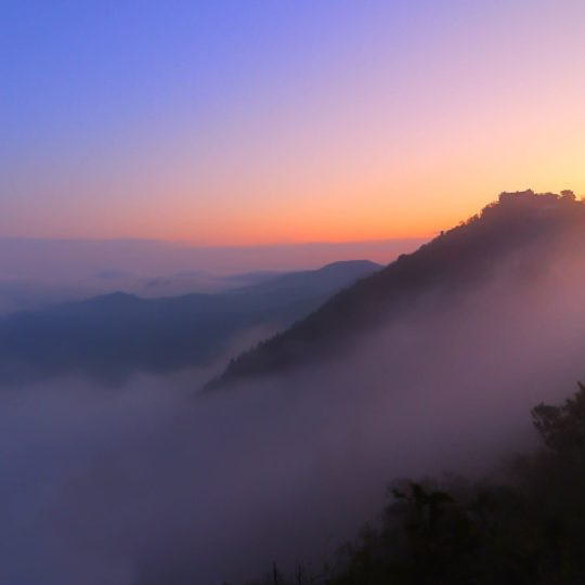 風景山の Android スマホ 壁紙
