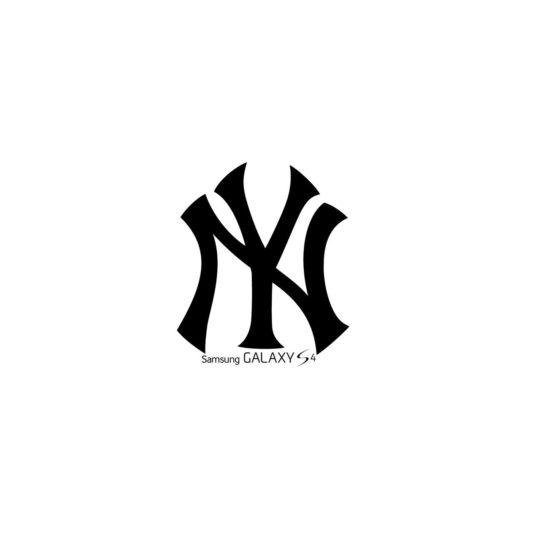 ロゴニューヨークヤンキースの Android スマホ 壁紙