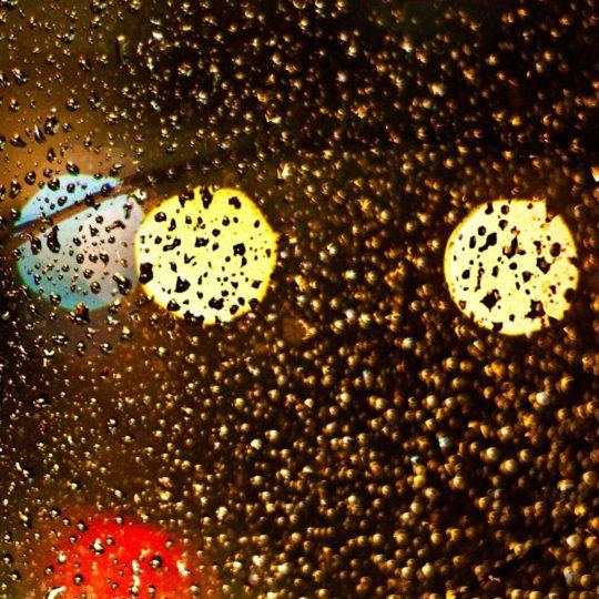 風景ガラス水滴の Android スマホ 壁紙