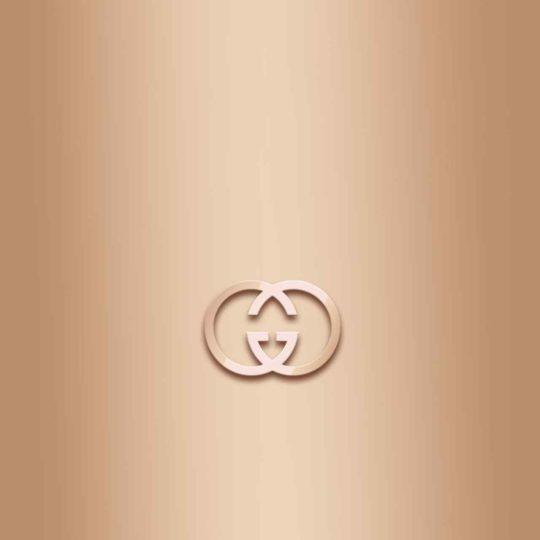 ロゴ橙の Android スマホ 壁紙