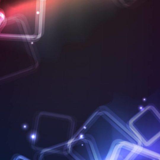 模様クール赤青の Android スマホ 壁紙