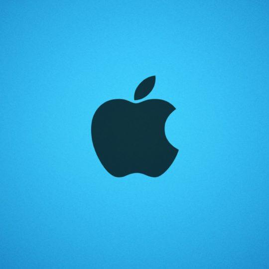 Apple青の Android スマホ 壁紙