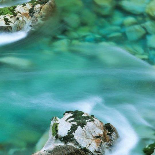 風景川の Android スマホ 壁紙