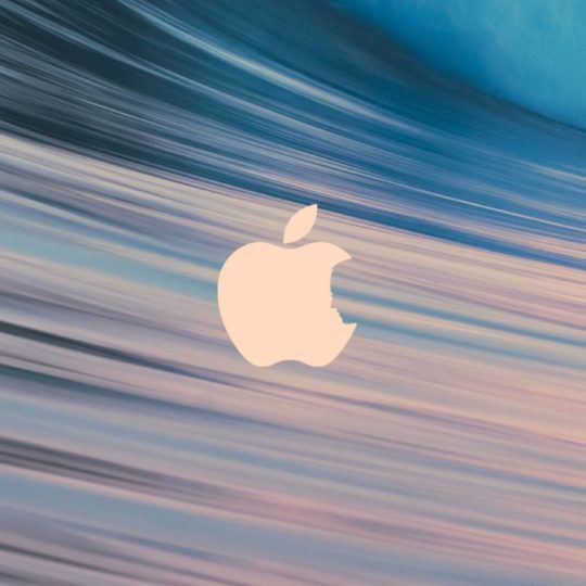 Apple波の Android スマホ 壁紙