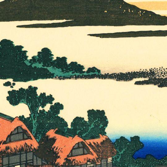 クール絵富士山の Android スマホ 壁紙