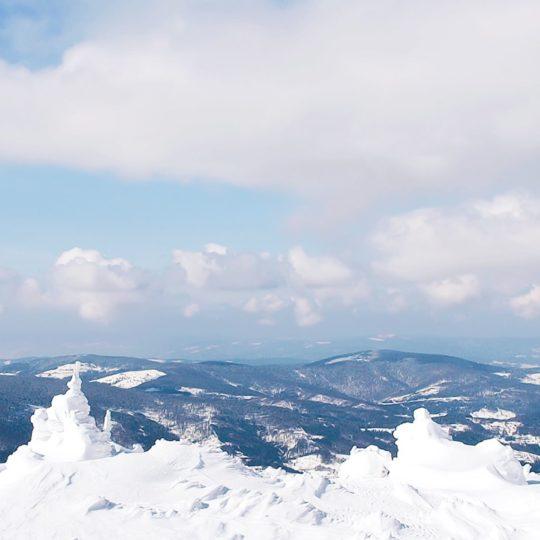 風景雪山の Android スマホ 壁紙