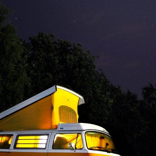 風景乗り物車夜空の Android スマホ 壁紙
