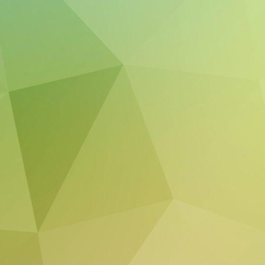 模様黄緑白の Android スマホ 壁紙
