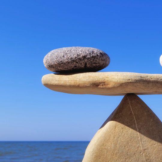 石クール海風景青茶色の Android スマホ 壁紙