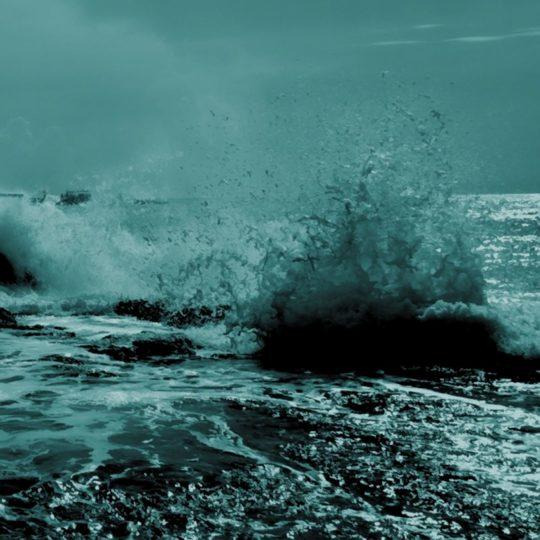 風景海の Android スマホ 壁紙
