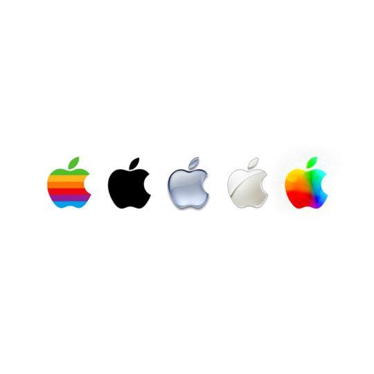 Appleロゴの Android スマホ 壁紙