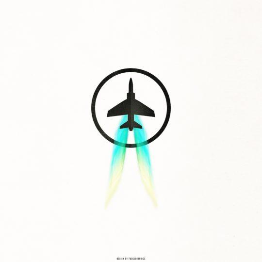 ロゴ飛行機の Android スマホ 壁紙