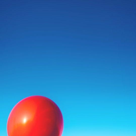 風景空赤風船の Android スマホ 壁紙
